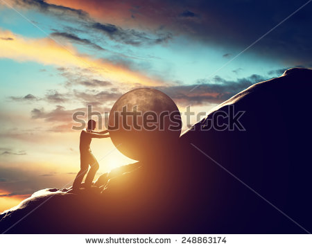 stock-photo-sisyphus-metaphor-man-rolling-huge-concrete-ball-up-hill-sisyphean-work-task-248863174